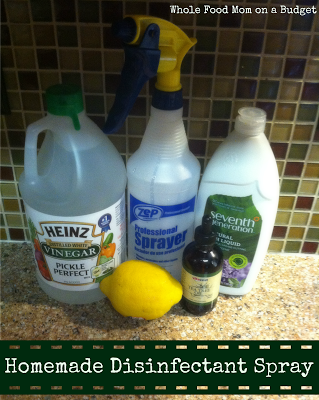 Homemade Lysol Disinfectant Spray Mix together 16 oz. ( 2