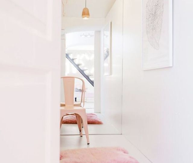 Pink White Decor Loveee The Pink Faux Fur Rug