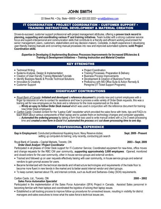 Resume Format For Project Coordinator. Project Coordinator Cv