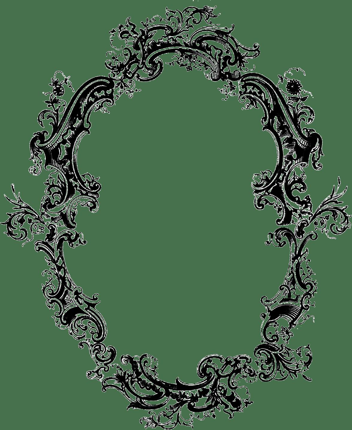 Filigree Frame Filigree / Acanthus Pinterest
