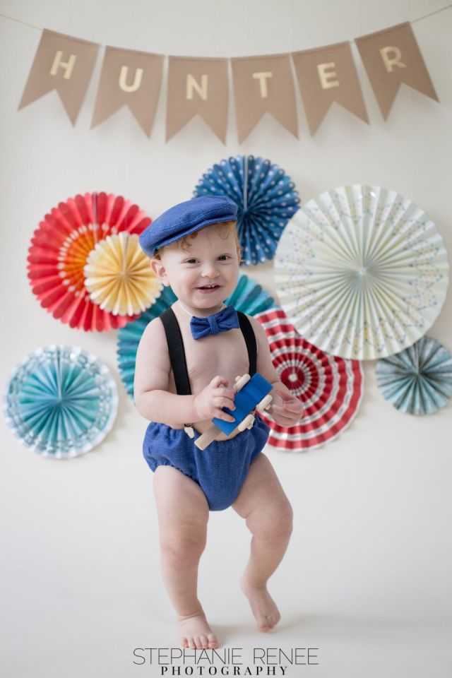 Blue baby boy 1st birthday outfit1st birthday dress up