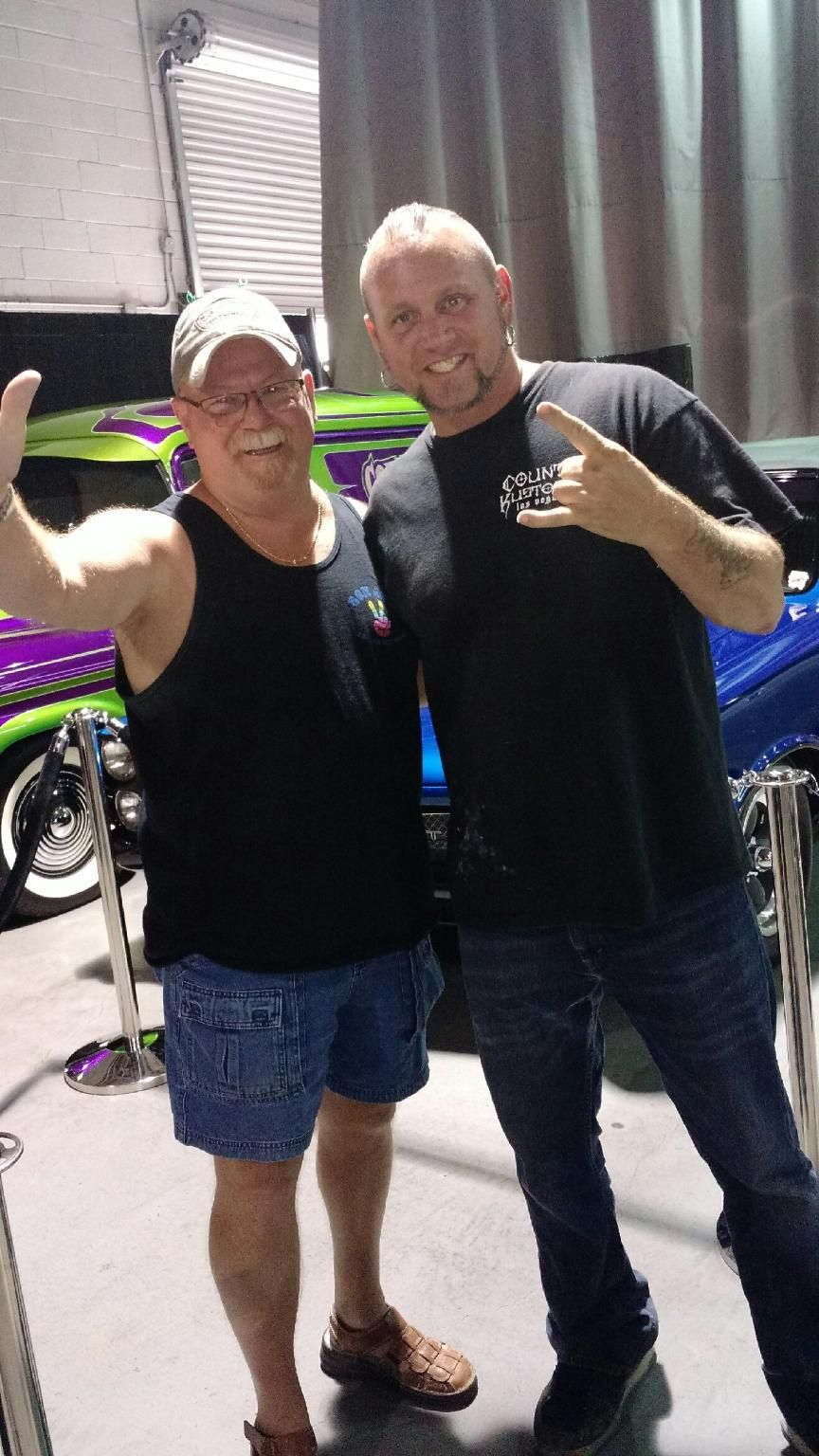 Kenny got to meet Horny Mike at Counting Cars Counts
