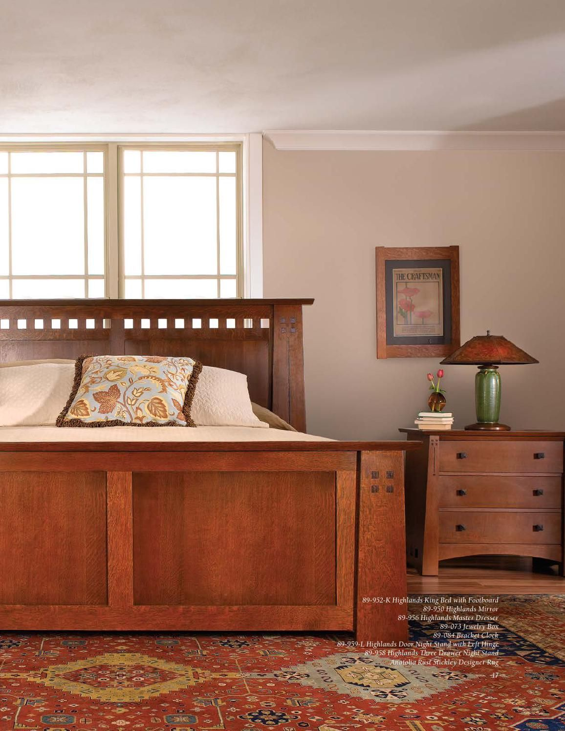 stickley mission oak & cherry collection | bungalow, cherries and