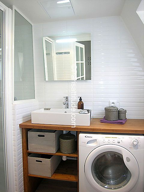 Salle De Bain WC Pinterest Laundry Washroom And