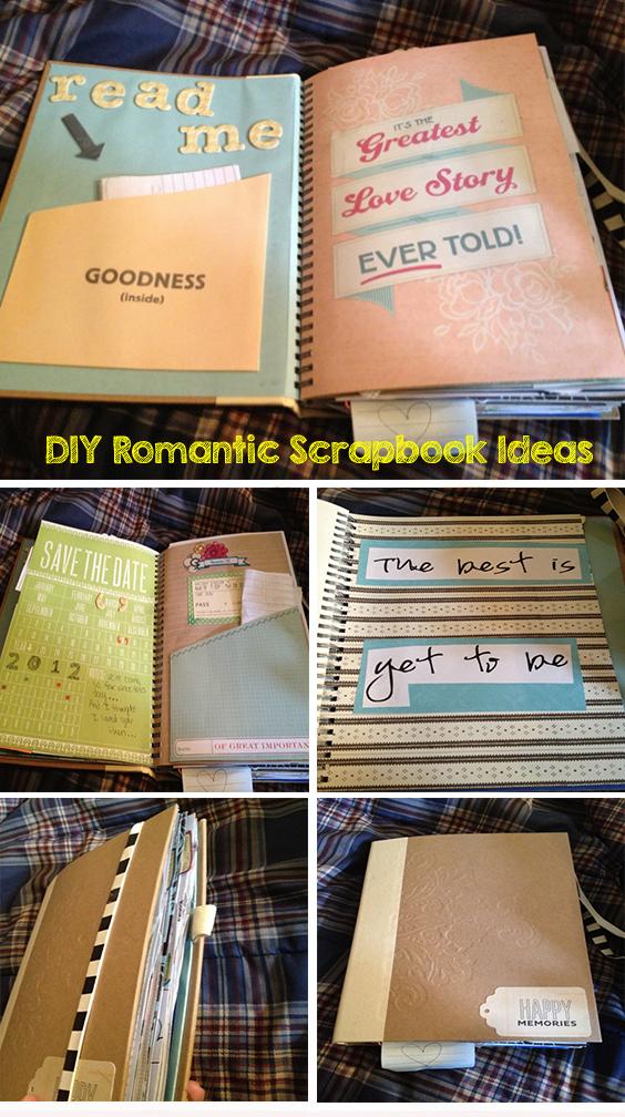 The Story Of Us DIY Romantic Scrapbook Ideas Buy Him