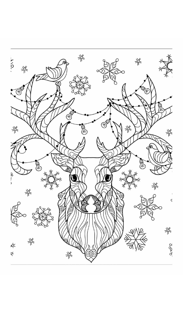 Christmas Coloring Book A Holiday Coloring Book for
