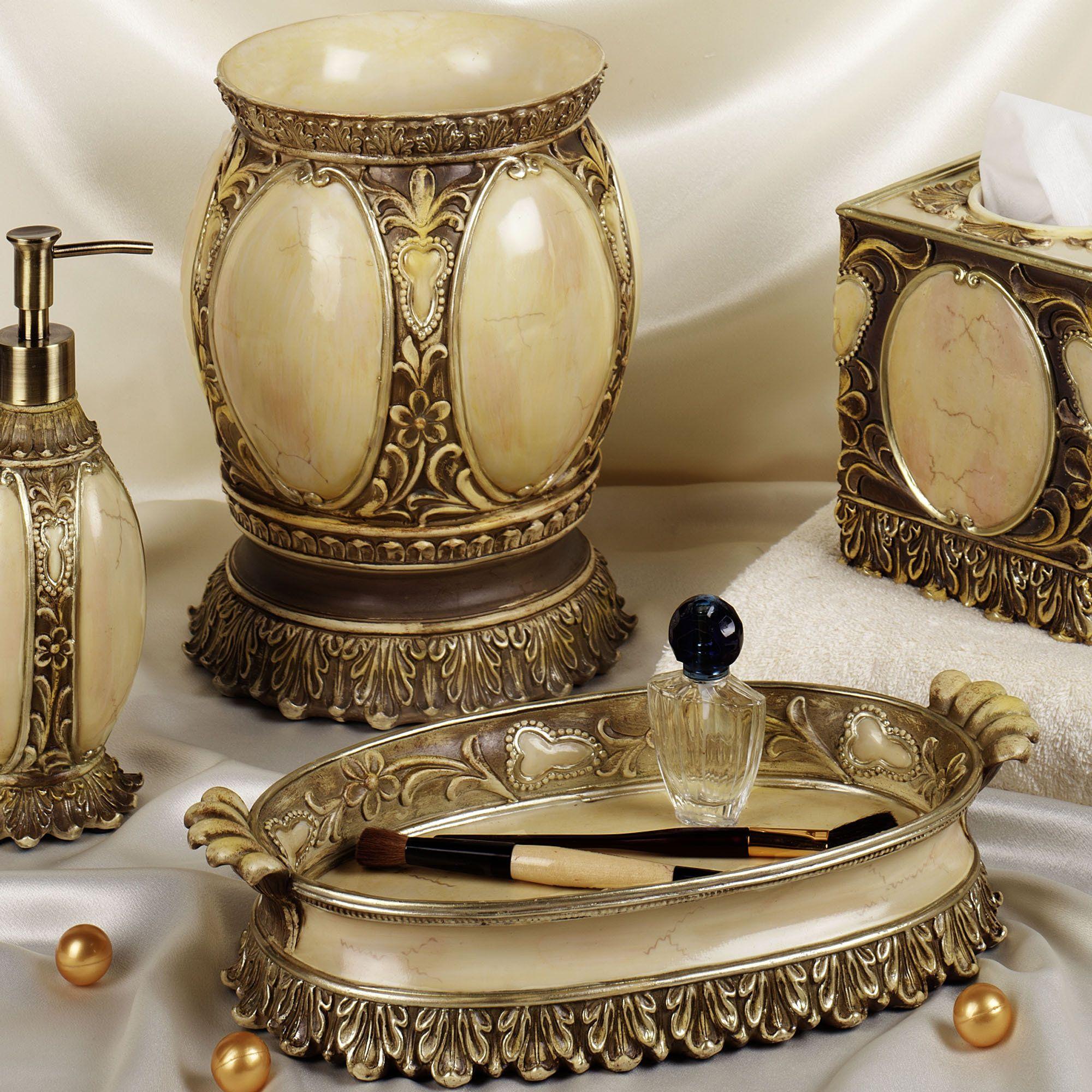 bathroom+accessories | the resin cordova bath accessories have the