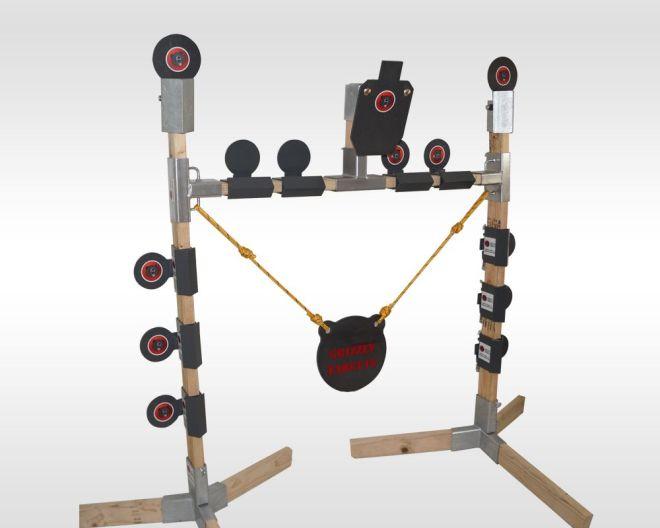 Ar500 steel target range package arcade shooting