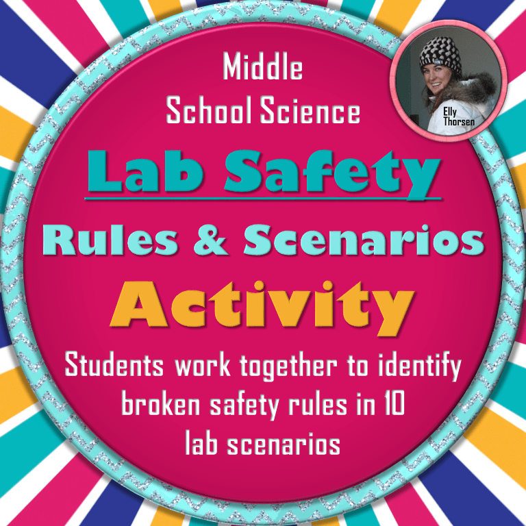 Science Lab Safety Rules Activity Lab safety rules, Lab