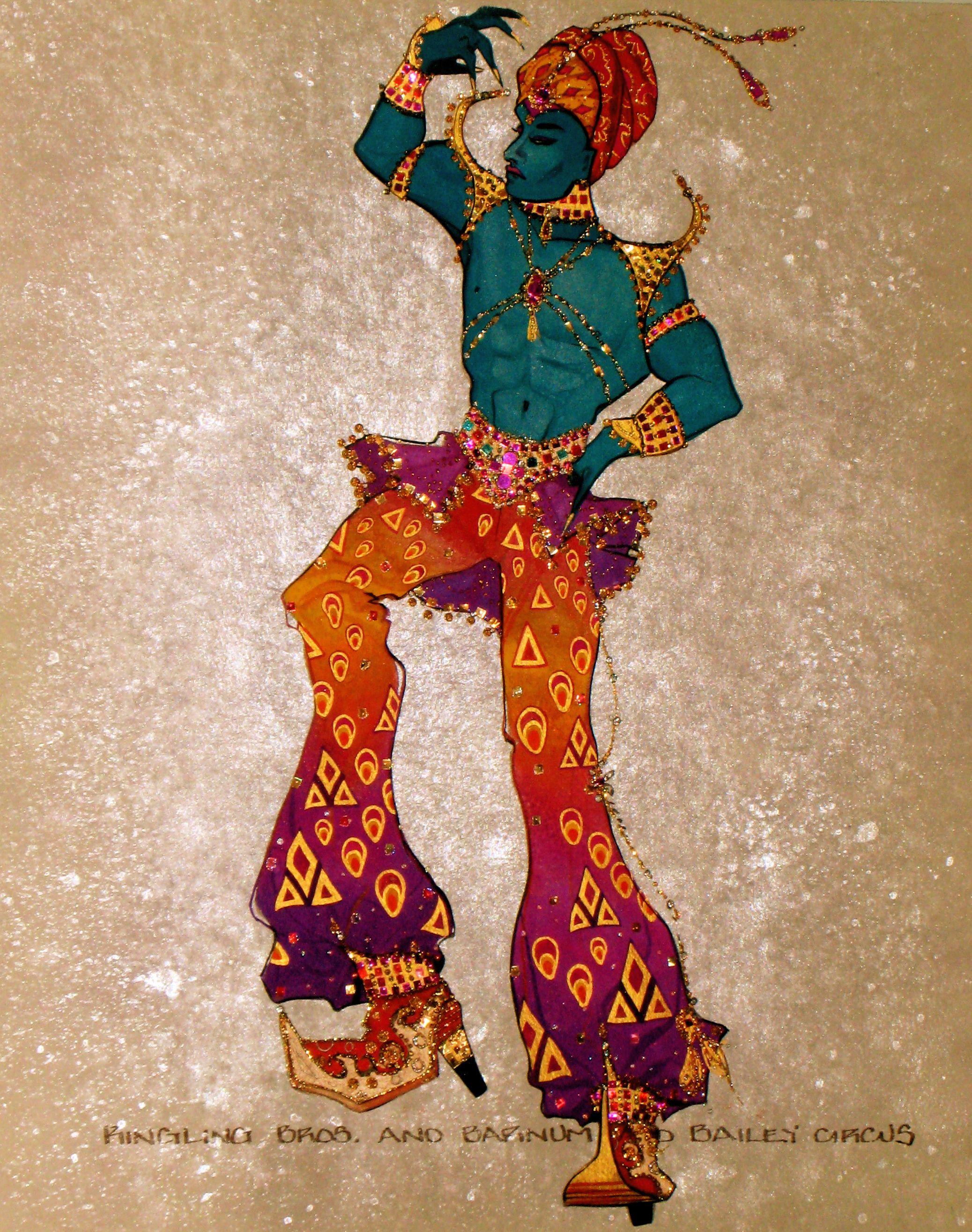 Ringling Bros. Circus costume design by Gregg Barnes
