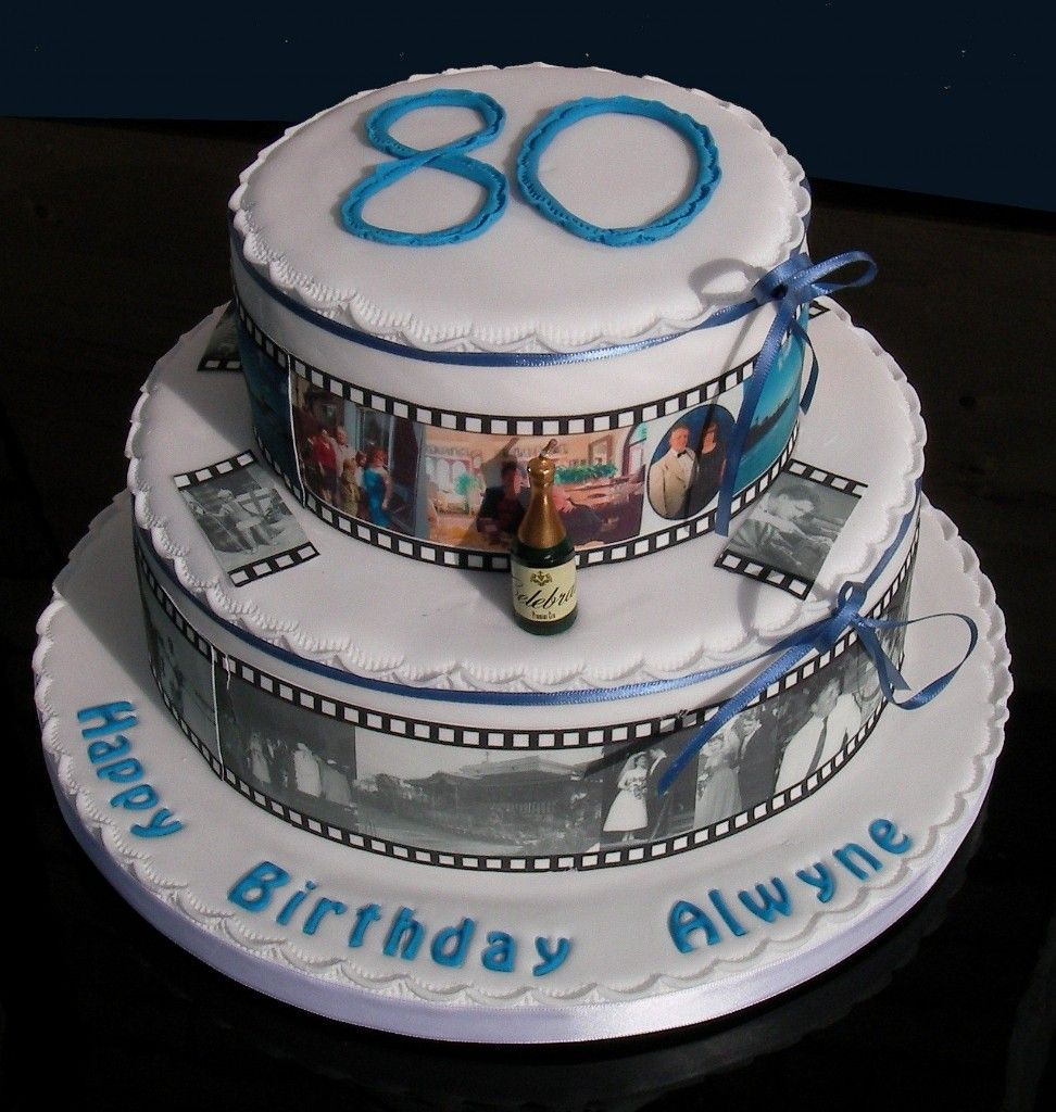80th Birthday Cake Ideas For Men Party Ideas Pinterest