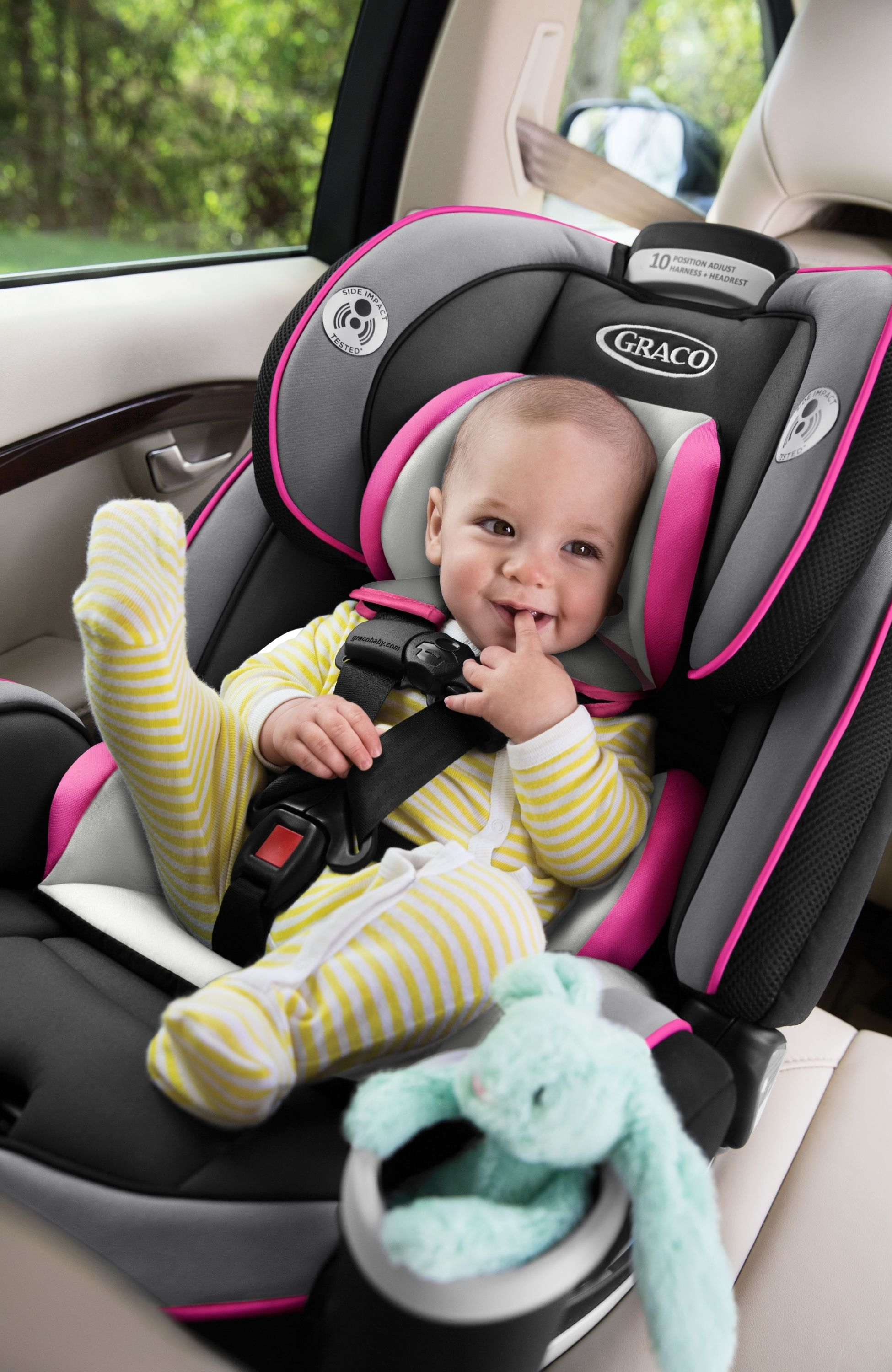 Graco 4Ever AllinOne Convertible Car Seat Kylie Car