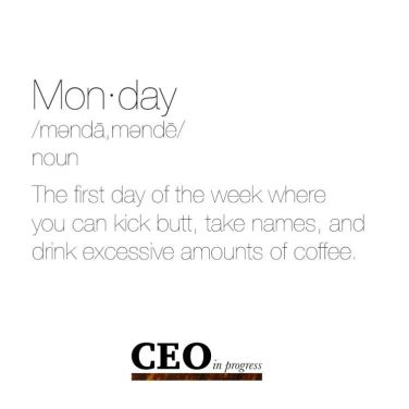 Image result for monday definition