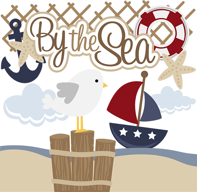 By The Sea SVG files for scrapbooking paper crafting free