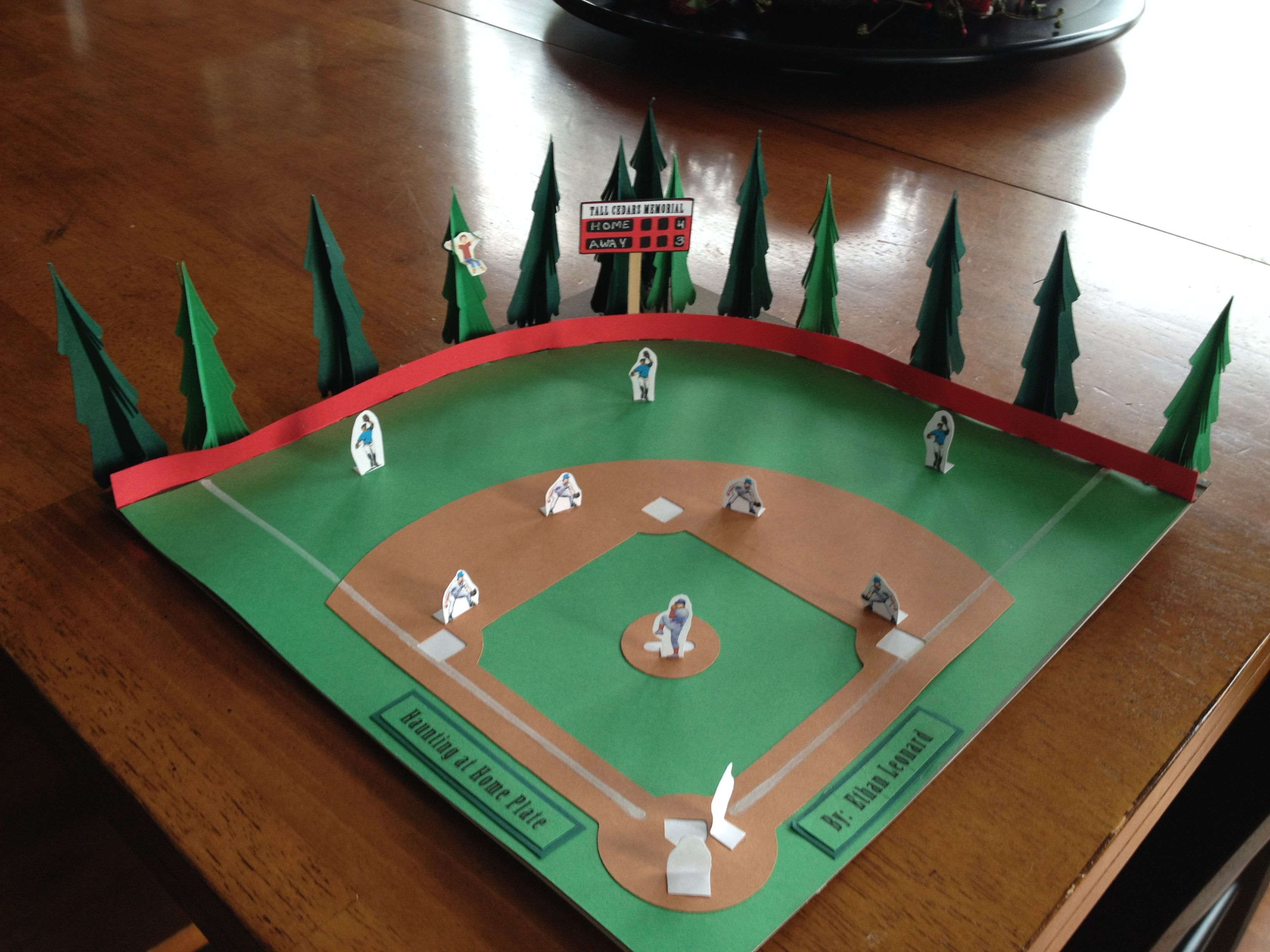 Baseball Project For A Book Report