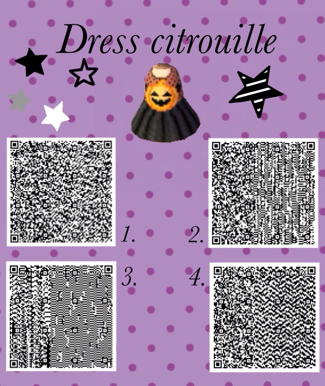Happy halloween acnl Animal Crossing QR Clothing Codes