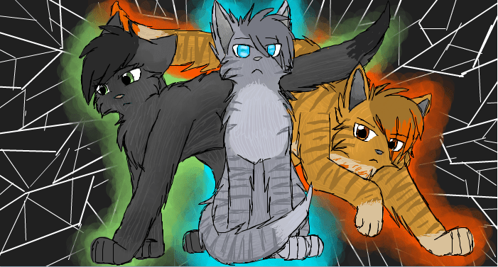 The Power of Three ( we'll actually hollyleaf isn't part