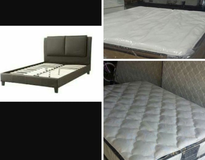 Free Queen Platform Bed With Qualifying Purchase Get Either Of These High Quality Mattresses And