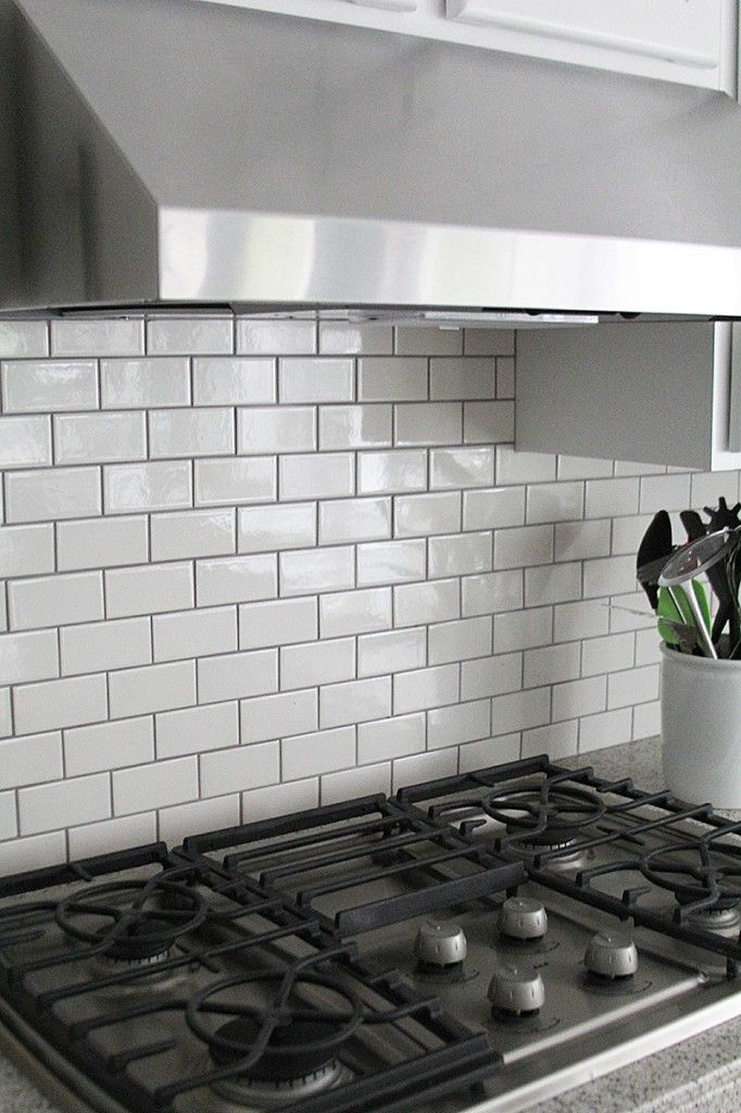 Jennifer Stagg of With Heart chose dark grout when she