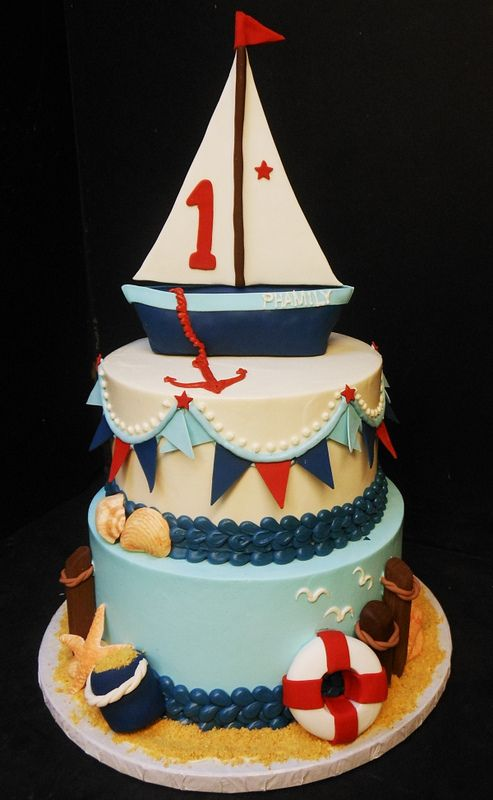 Nauticalfirstbirthday Here S An Example Of A Sailboat