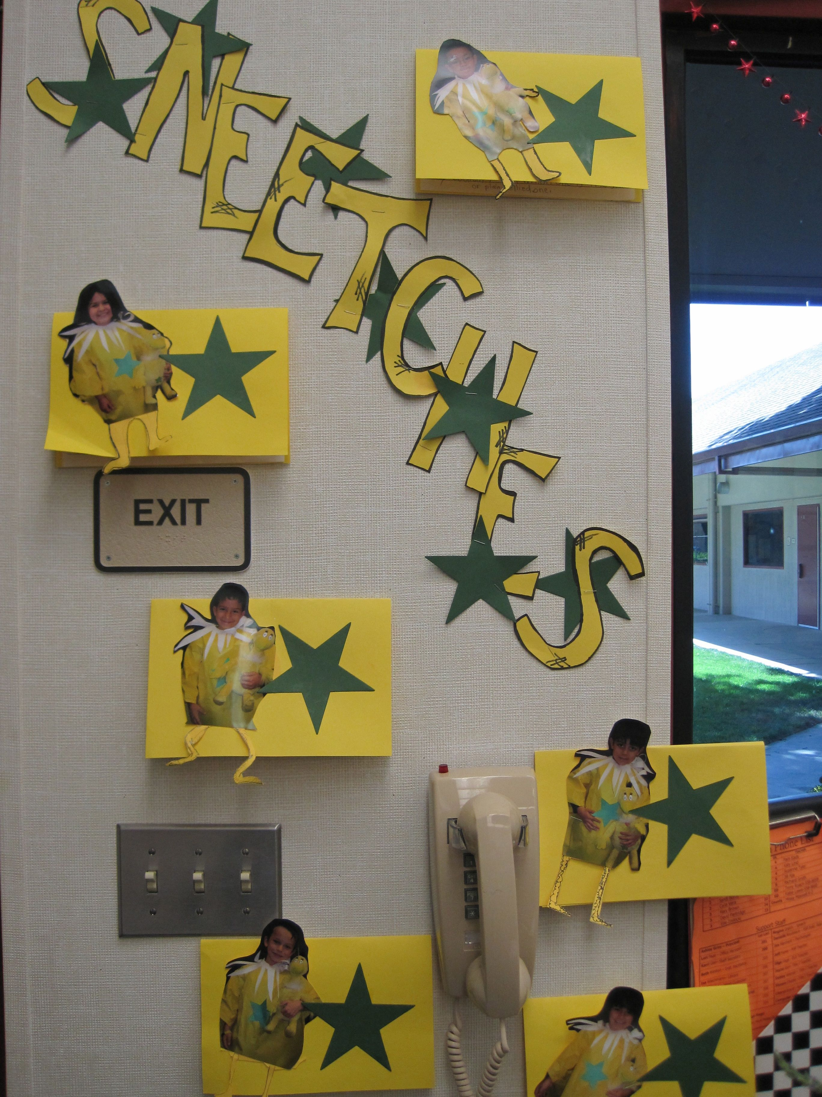 Dr Seuss The Sneetches Use Bulletin Board Paper To Make