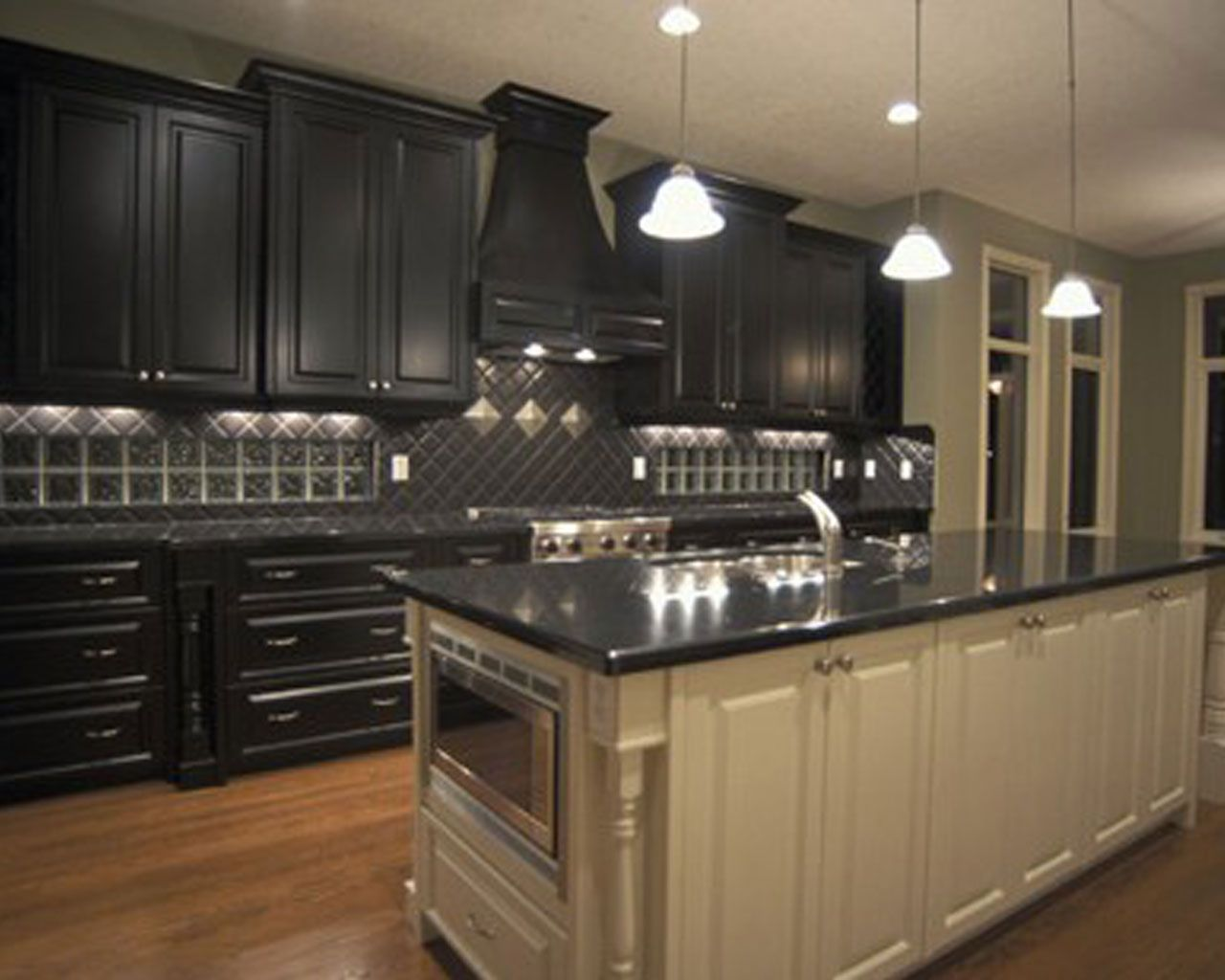 Finest Design Black Kitchen Wallpapers New