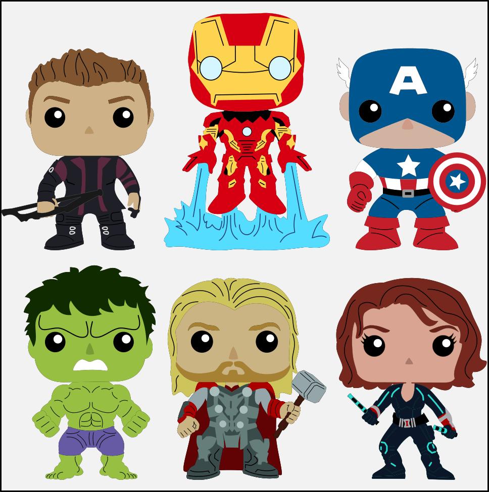 Krafty Nook Marvel's Avengers Fan Art Scrapbook