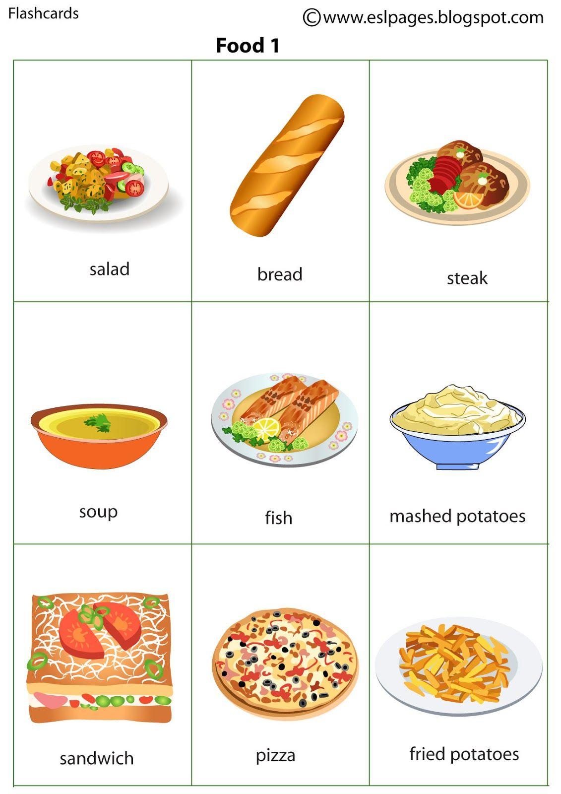 Fast Food Flashcards