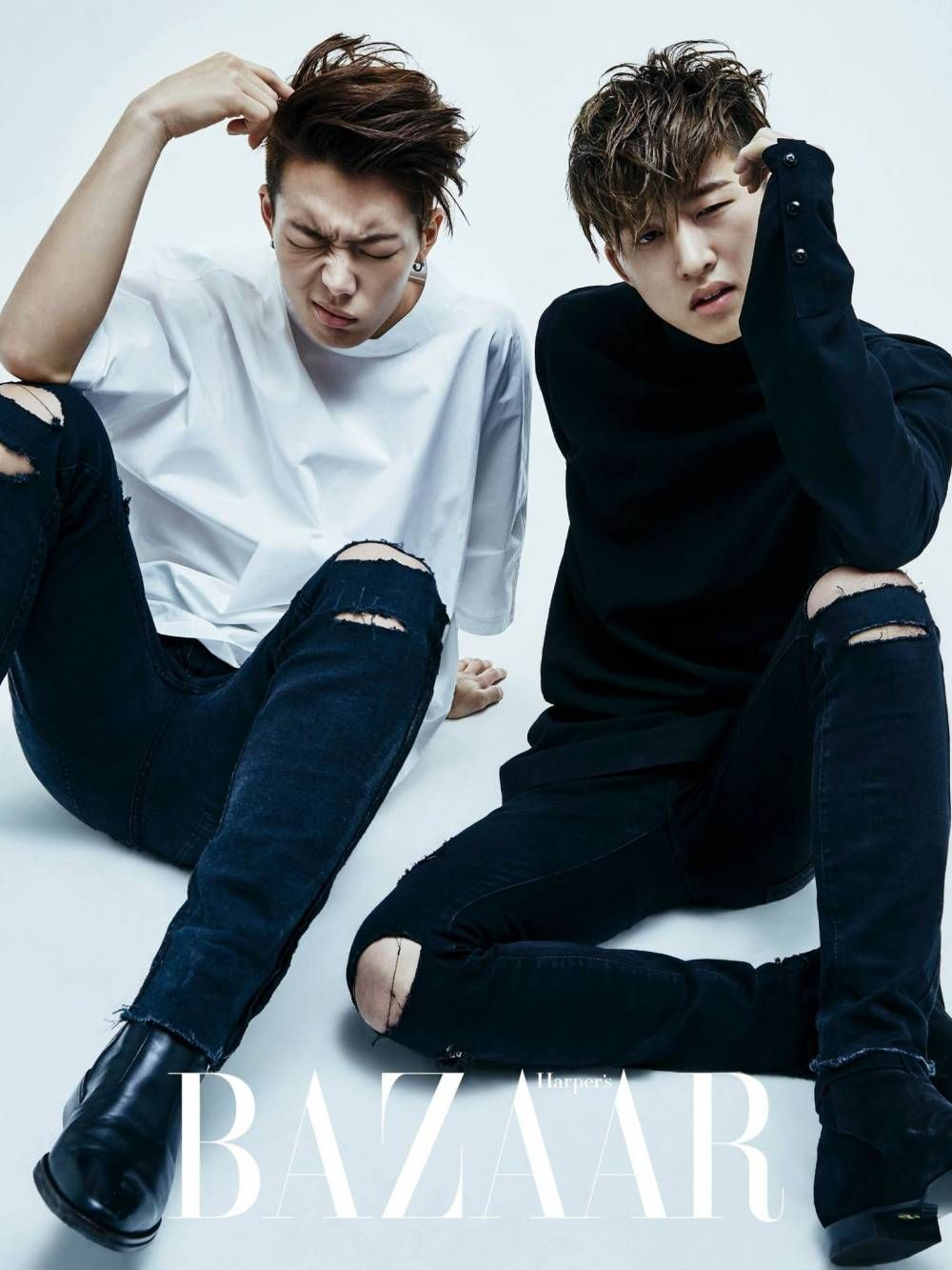 The iKON boys are all swag and sexy in their group