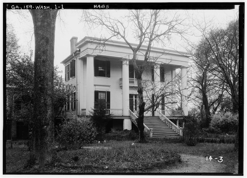 Robert Toombs House, Washington, Wilkes County, GA