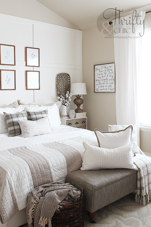 Master Bedroom Makeover Farmhouse bedroom decor, Master