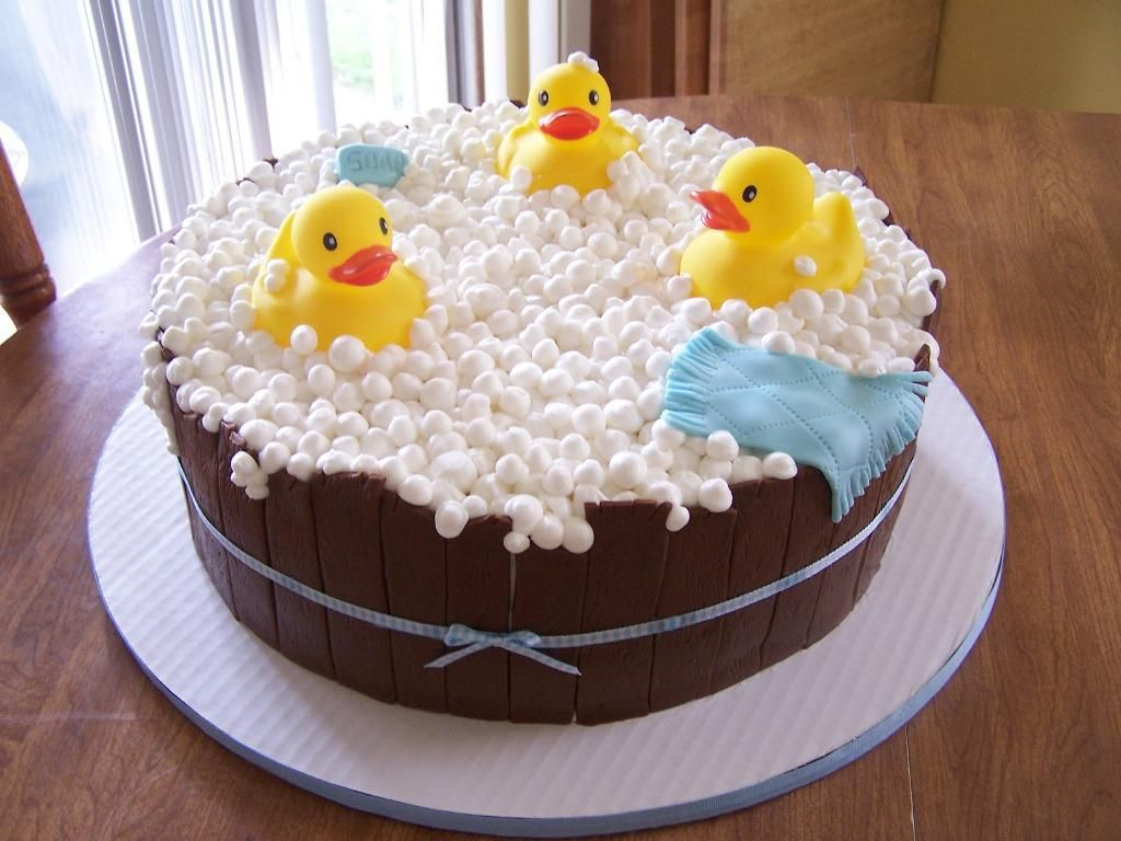 Image Of Baby Shower Cakes Austin Tx