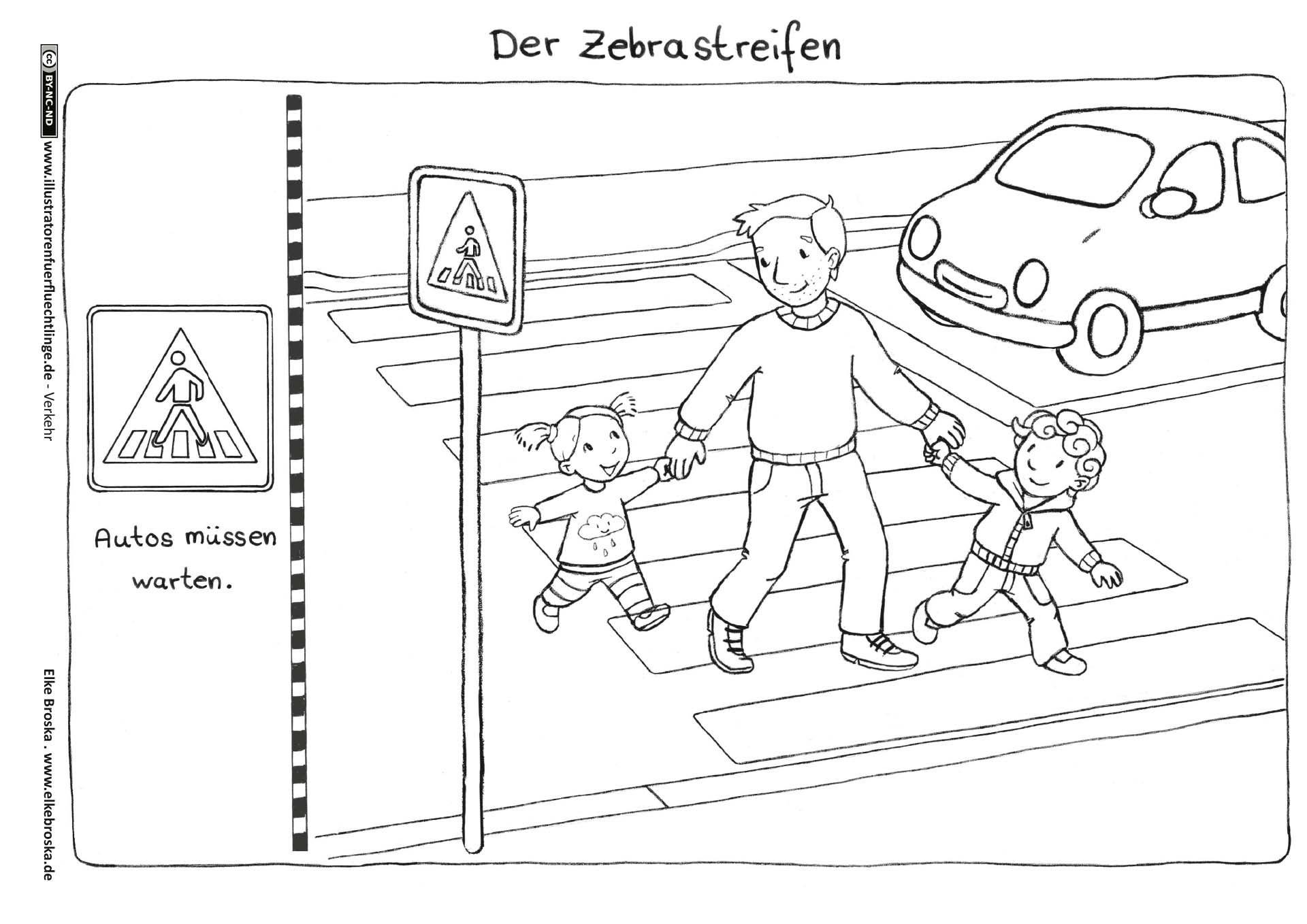 Download Als Verkehr Zebrastreifen Broska