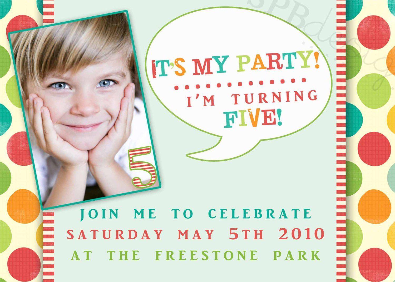 3rd birthday invitation text