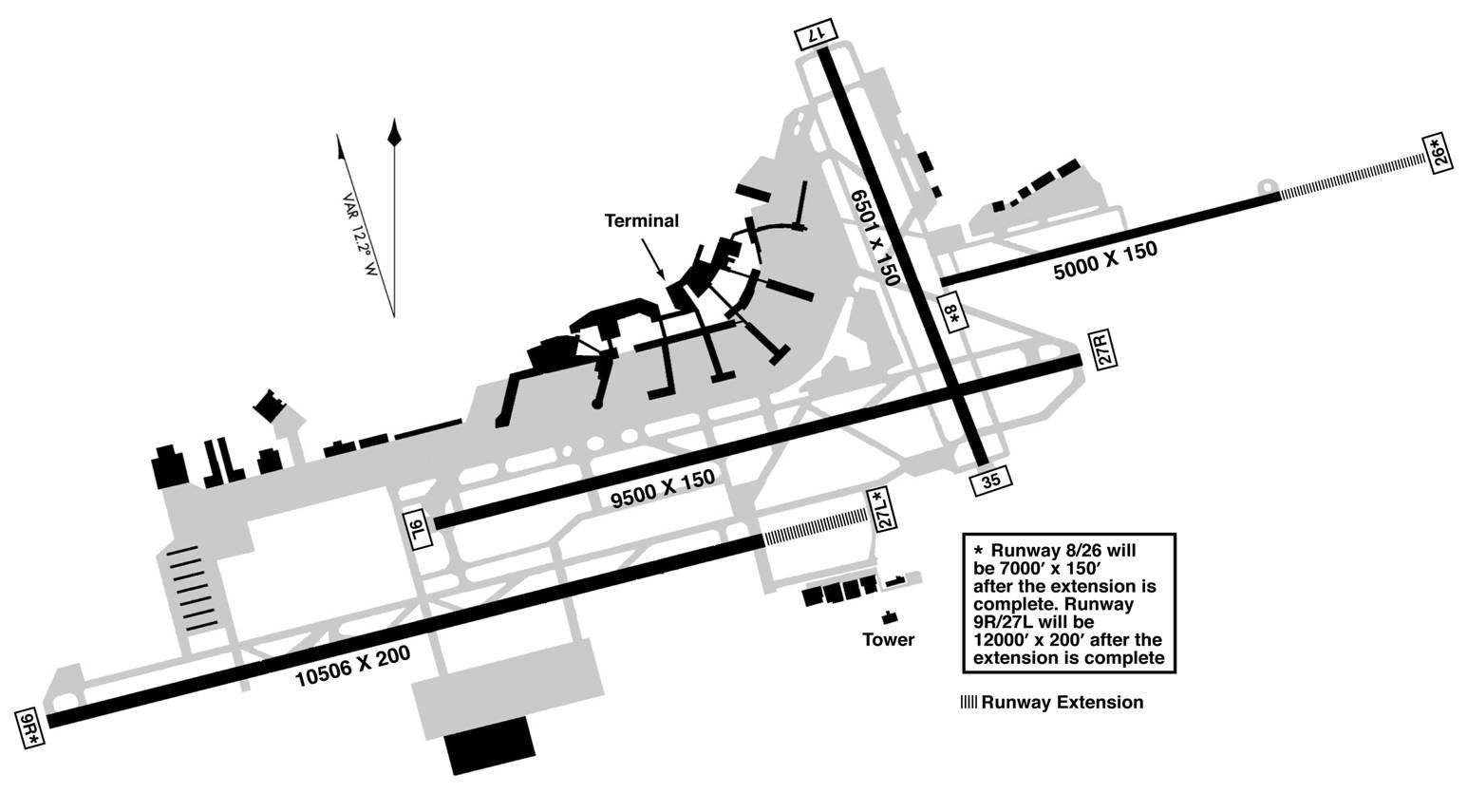 Philadelphia International Airport Map
