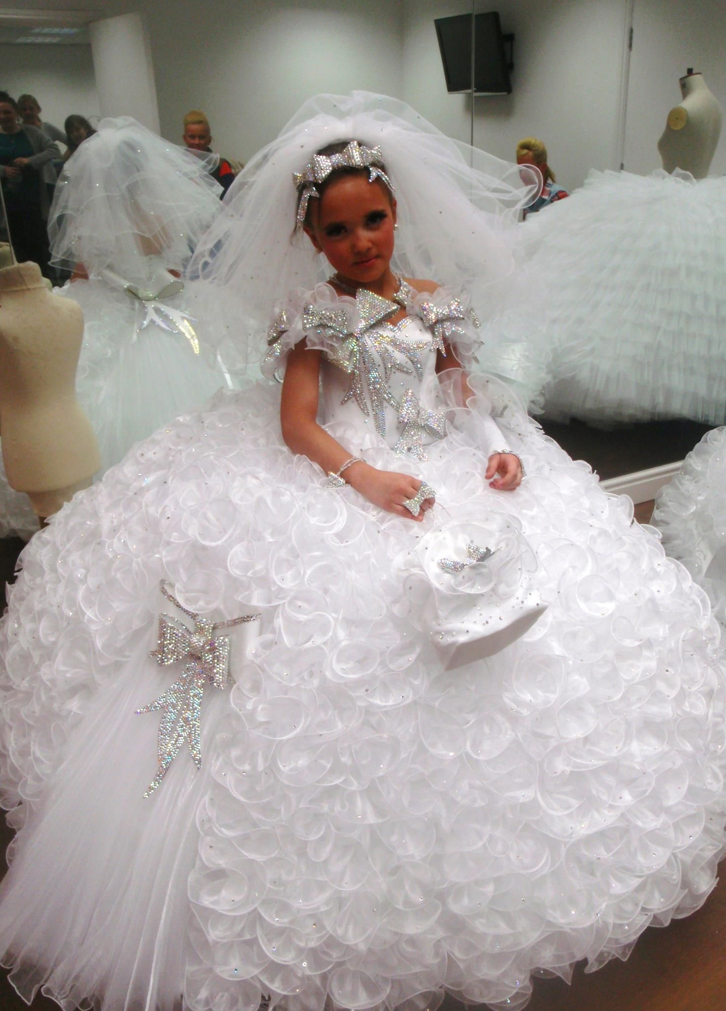 Another 1st communion dress GYPSY BLING! Pinterest
