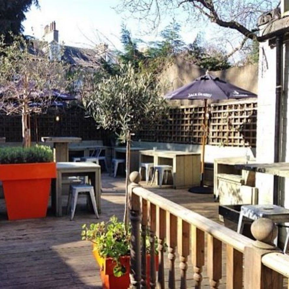 The UK's most beautiful beer gardens Beer garden, London