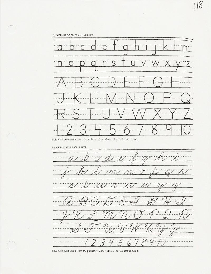Worksheets Zaner Bloser Cursive Handwriting Worksheets zaner bloser cursive letter formation poemsrom co handwriting paper