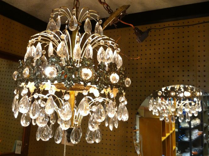 Fabulous Chandelier From Scs At The Rusty 389