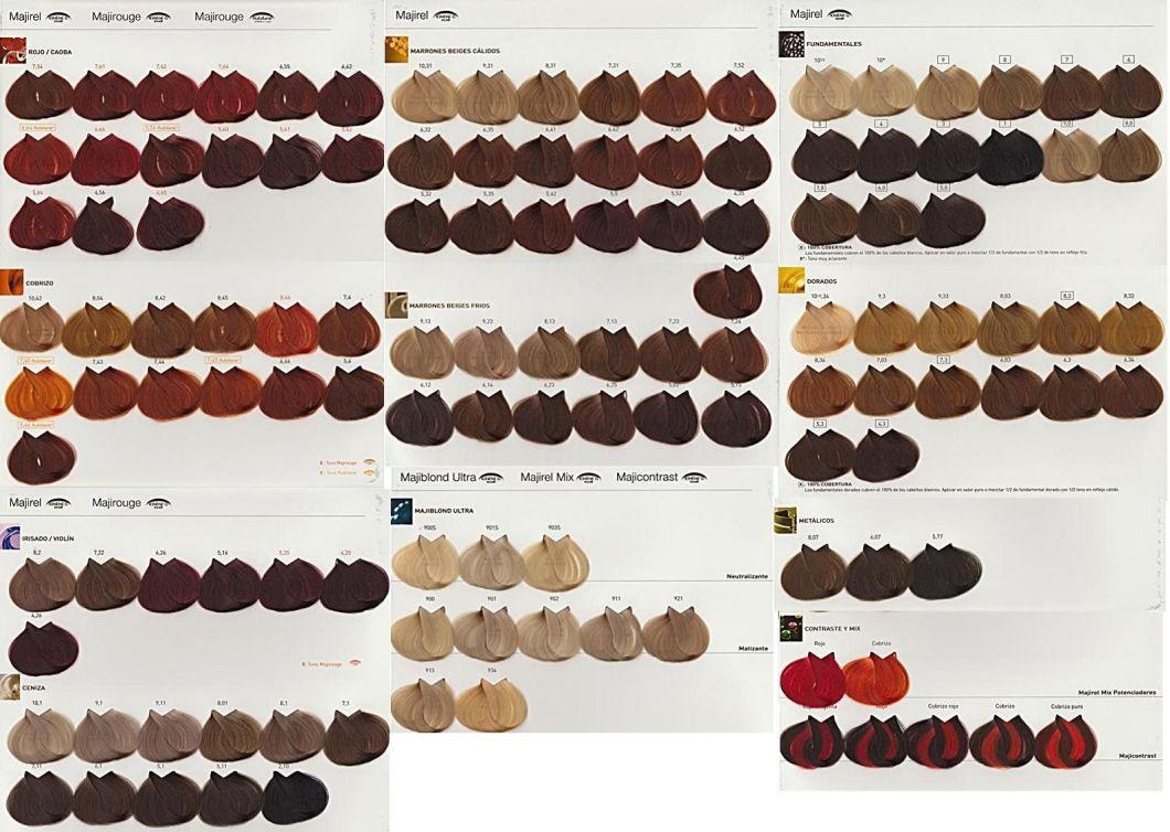 Inoa Hair Colour Chart Uk Hairstly