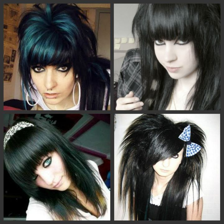 Emo girls with different hair to help you inspired to try a