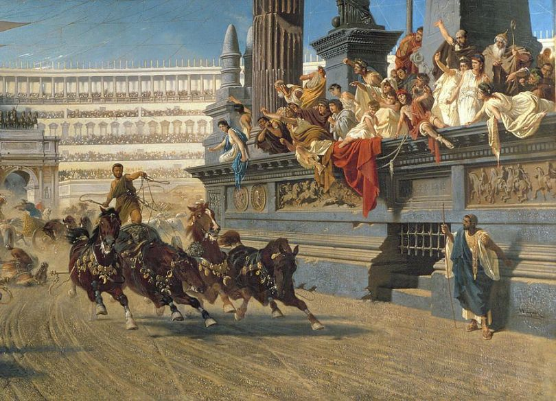 Image result for biggest sport riot in chariot racing