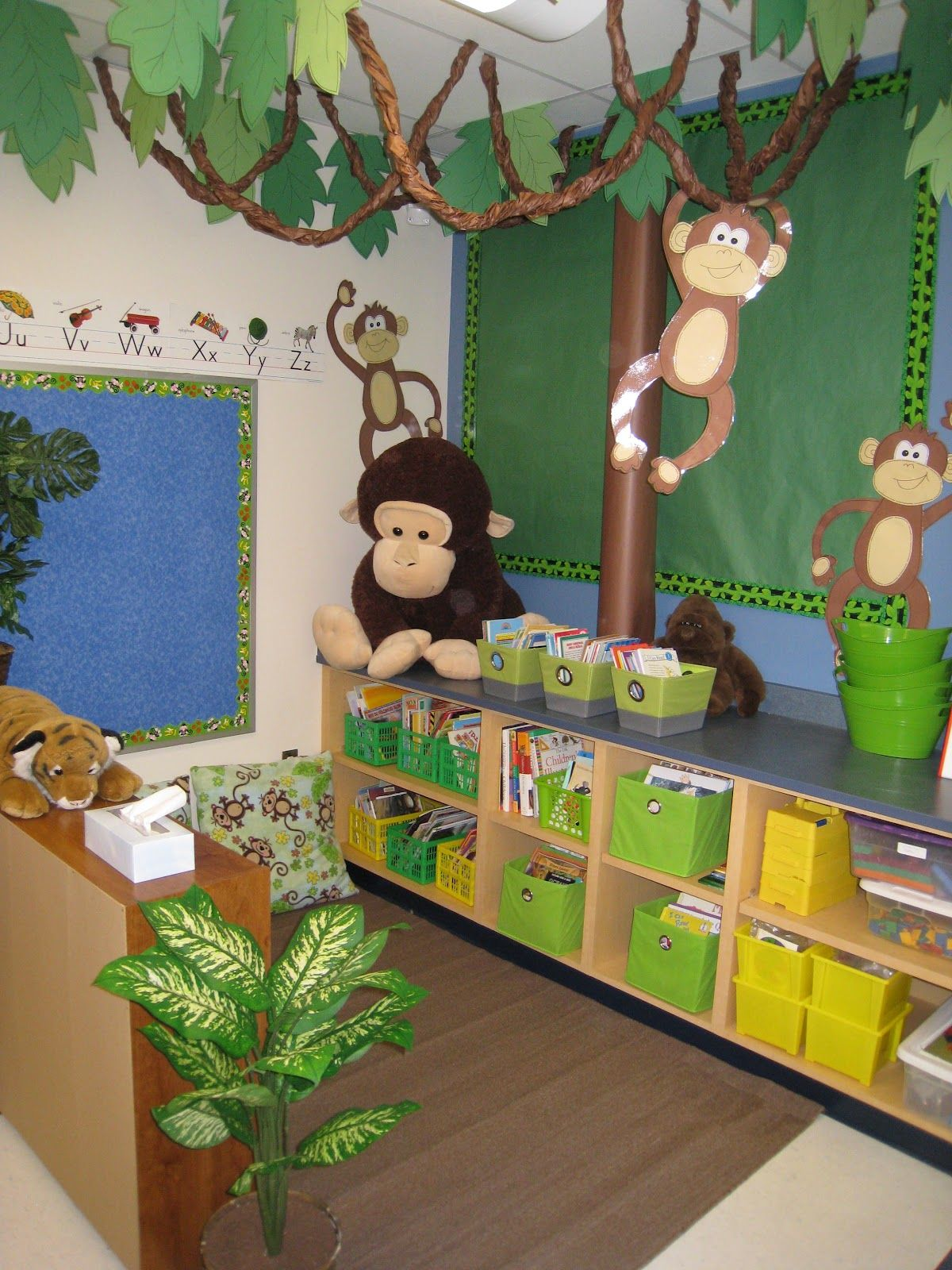 Jungle Theme Classroom