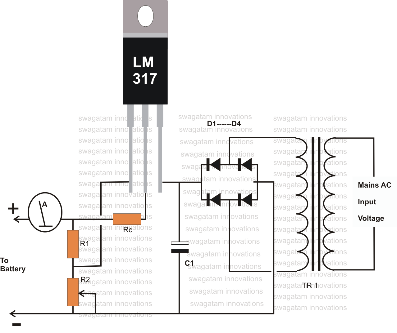 12 Volt Led Schematic