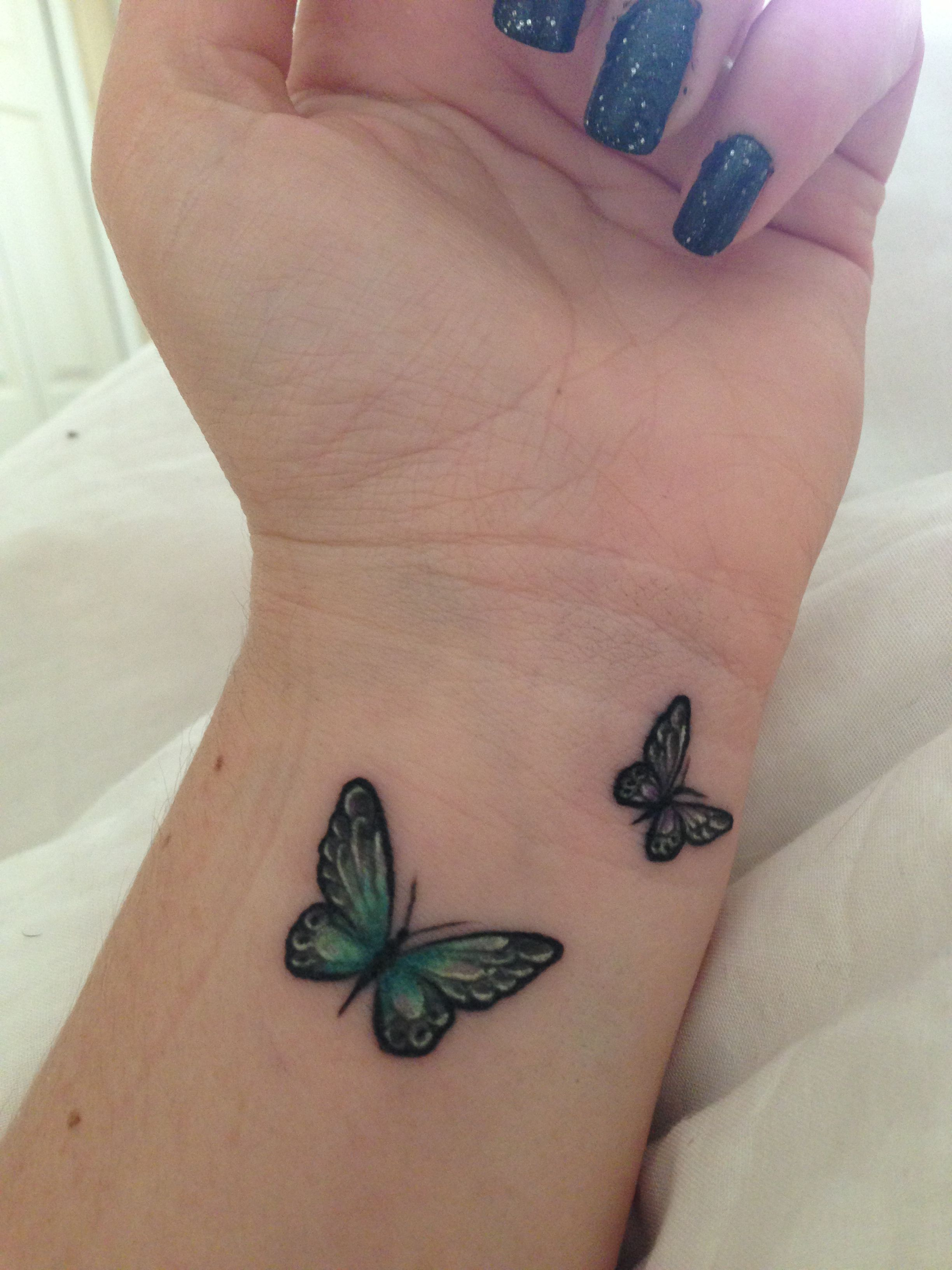 25 Small Tribal Tattoos On Wrist Butterfly wrist tattoo