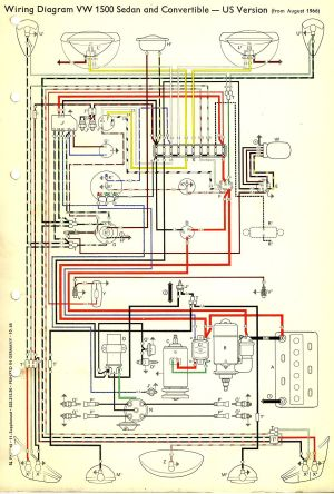 1967 Beetle Wiring Diagram (USA) | TheGoldenBug | best