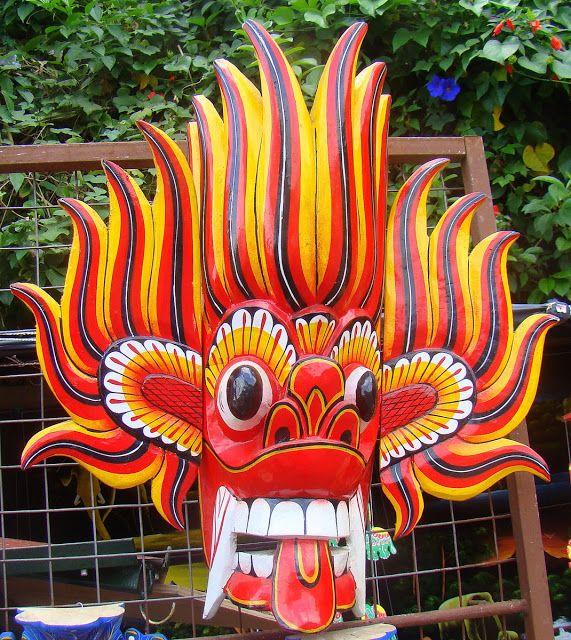 23 Sri Lankan devil dance mask Sri Lankaweek 3