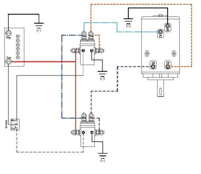 110 volt winch wiring diagram wiring diagram for extra fuel