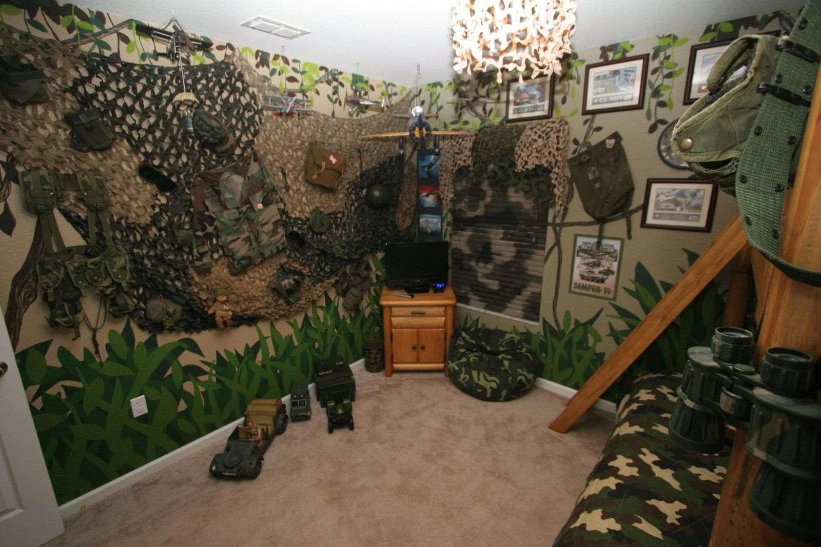 Camouflage Decorations For Room