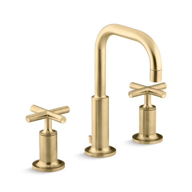 Kohler K 3 Purist Widespread Bathroom Faucet with Low